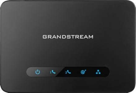 Grandstream HT812 Built-in NAT Router Telephone Adapter