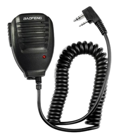 BaoFeng Handheld Microphone for Walkie Talkie Radio