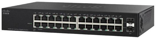 Cisco SG95-24 Wall Mount 24-Port Gigabit Network Switch