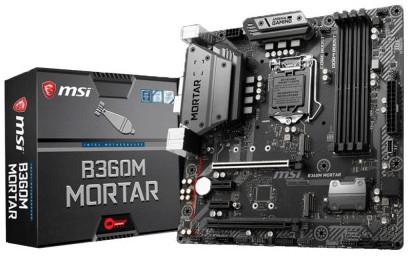 MSI B360M Mortar 8th Gen DDR4 Multi GPU Motherboard