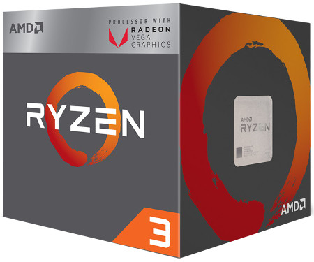 AMD Ryzen 3 2200G 4 Core / 4 Threads Desktop Processor