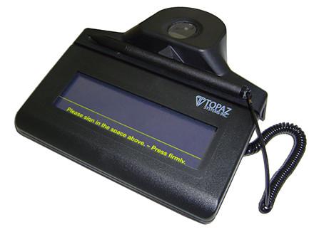 Topaz IDLite TF-S463-HSB-R 1x5 Electronic Signature Pad