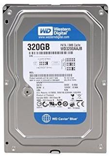 Western Digital Caviar Blue 320GB 3 Gbps Internal HDD (850)