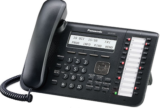 Panasonic Kx Dt543 3 Line Lcd 24 Co Buttons Telephone