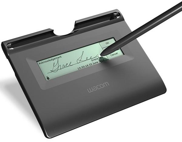 Wacom STU-300B Compact Design Professional Signature Pad