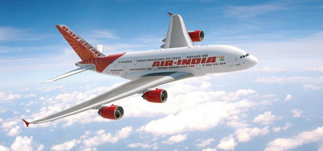 Dhaka to Delhi One Way Air Ticket Fare by Air India Airlines