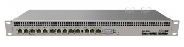 MikroTik RB1100AHX4 Dude Edition Network Switch Board