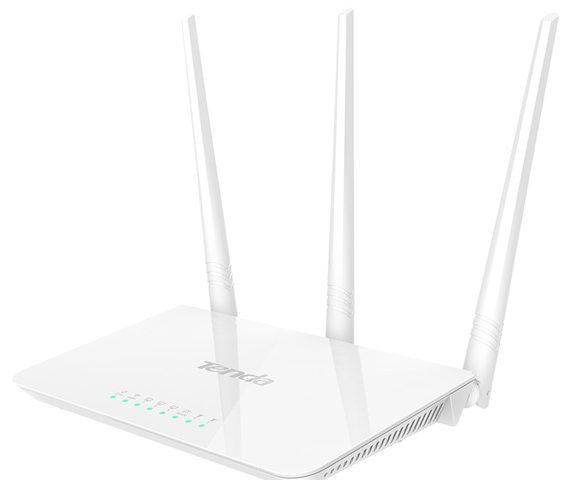 Tenda F3 RangeMax 2500 Sqft 300Mbps Wireless Wi-Fi Router