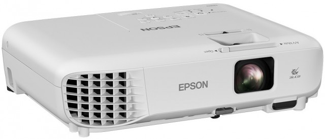 Epson EB-X05 XGA 3300 ANSI Lumens 3LCD Video Projector