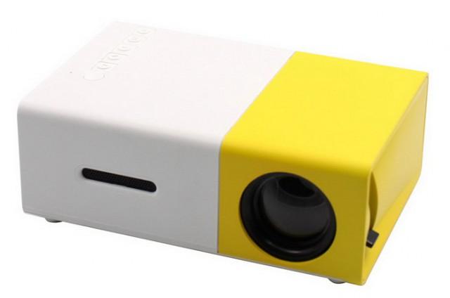 Speed Data YG-300 LCD 400 Lumens Multimedia Mini Projector