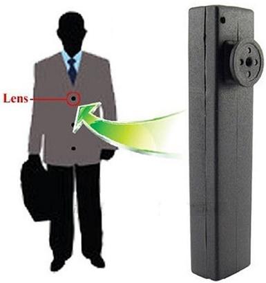 Button Spy Camera HY-900 32GB Storage HD Video Recording