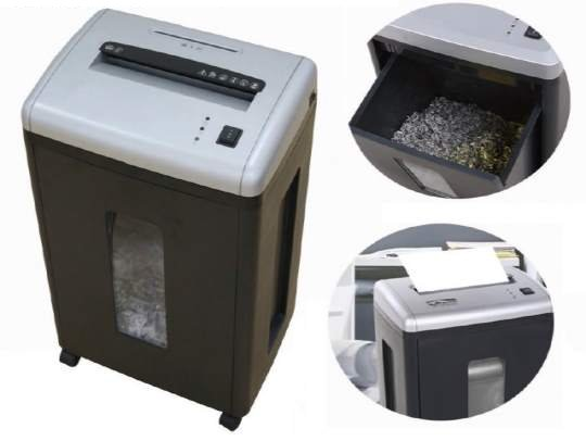 Lexin JP630C Cross Cut 12 Sheet Capacity Paper Shredder