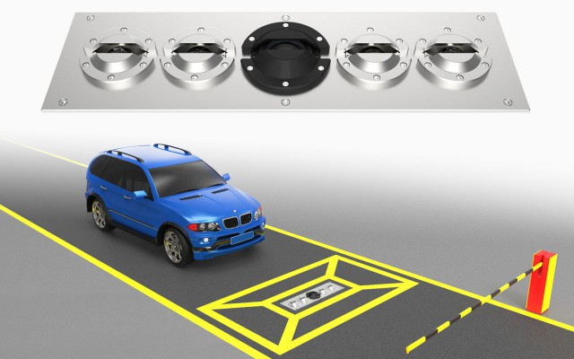 Entry / Exit Gate Under Vehicle Surveillance System SPV3300