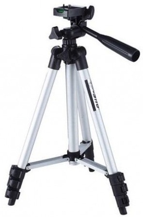 TeFeng TF-3110 3-Way Head DSLR and Digital Camera Tripod