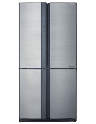 Sharp SJ-VX79E-SL 726L Express Freezing 4 Door Refrigerator