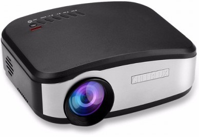 Cheerlux C6 1200 Lumens Mini Portable LED 3D Projector