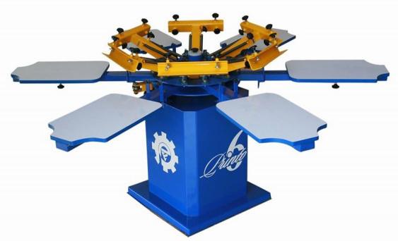 High Precision 6 Heads Manual Label Printing Machine