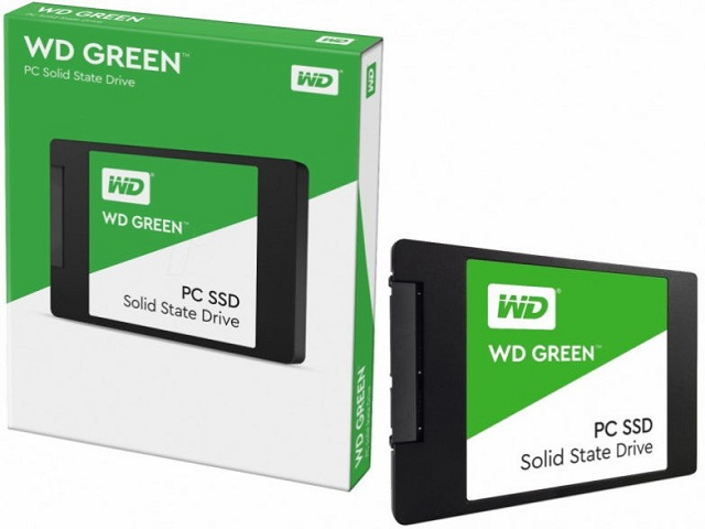 WD WDS120G1G0A Green 120GB Internal Solid State Drive