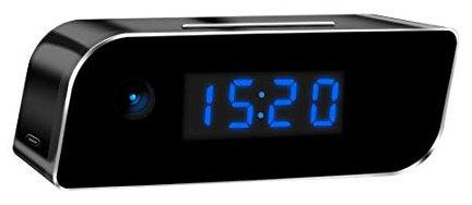 Full HD 1080p WiFi Hidden Clock Spy Camera