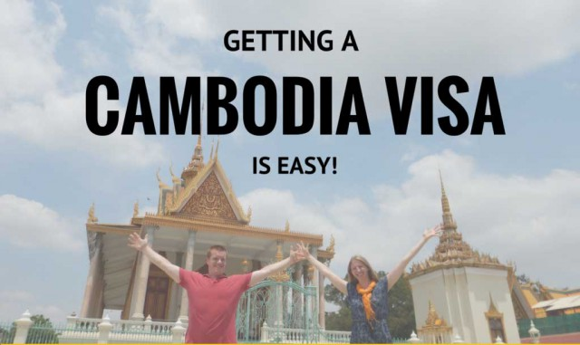 Cambodia e-Visa Within One Day