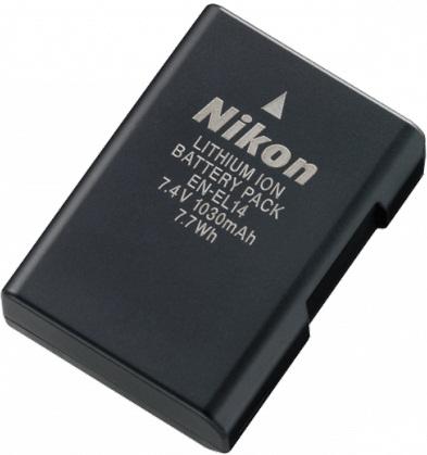 Nikon EN-EL14 Rechargeable Lithium-Ion Camera Battery
