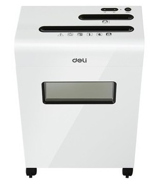 Deli 9911 8 Sheets Cross Cut Office Paper Shredder Machine