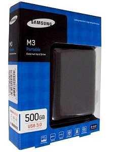 Samsung M3 500GB USB 3.0 5400RPM External Hard Disk Drive
