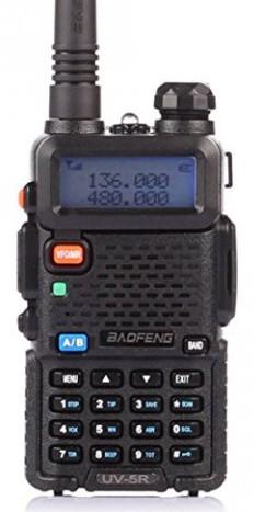 BaoFeng UV-5R Dual Band Two Way Radio Walkie-Talkie