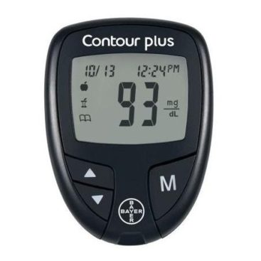 Contour Plus 0.5 mg/dl Blood Glucose Meter