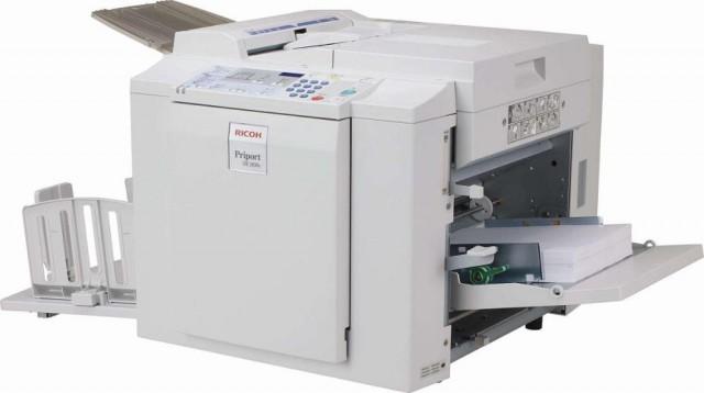 Ricoh DX-2430 Black and White Digital Duplicator Machine
