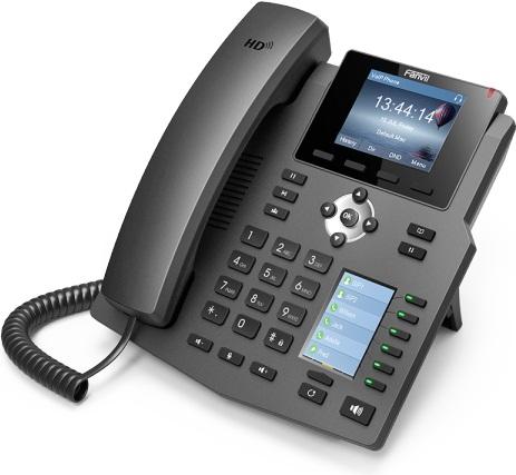 Fanvil X4 Mid-Range Enterprise HD Voice IP Telephone