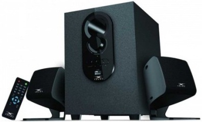 Xtreme E129BU 2:1 Multimedia Bluetooth Audio Stereo Speaker
