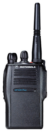 Motorola GP328 Plus Two Way Long Range Walkie-Talkie