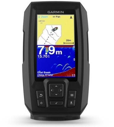 Garmin Striker Plus 4 Fish Finder with Dual Beam Transducer