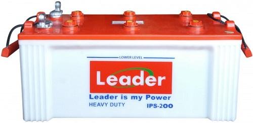 Leader Heavy Duty 200Ah IPS Battery