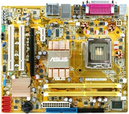Asus P5KPL-AM Motherboard with Intel G31 Chipset