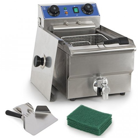 ETFE 12L Stainless Steel Commercial Deep Fryer