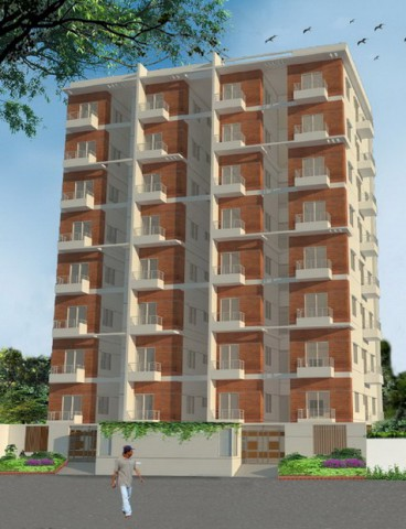 Exclusive 1480 Sqft South Facing Flat at Bashundhara Dhaka