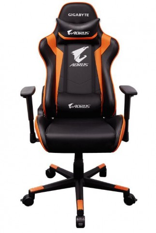 Gigabyte Aorus Agc300 Gaming Chair With Lumbar Cushion