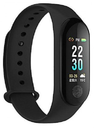 """Smart Band M3 Waterproof 0.96"""" Color TFT Heart Rate Monitor"""