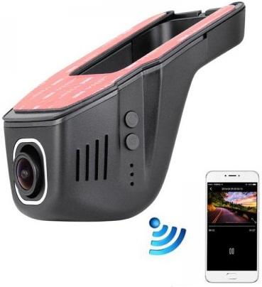 E-ACE 1080p Full HD Wi-Fi Car DVR with Dual Camera Lens