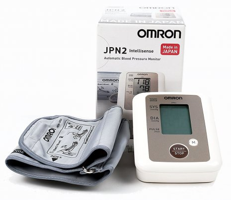 Omron JPN2 LCD Display Digital Blood Pressure Monitor