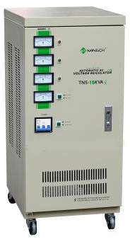 Tri Phase Automatic 40 KVA Industrial Voltage Stabilizer