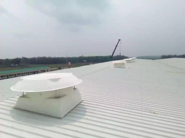 Rooftop Exhaust Fan FRP Body and Propeller Material