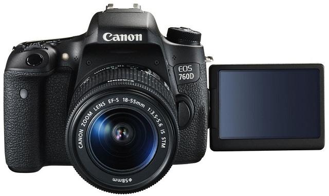Canon EOS 760D 24.2MP CMOS 18-55mm Lens DSLR Camera