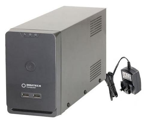 Digitech Pro 650VA LCD Panel Voltage Protection UPS