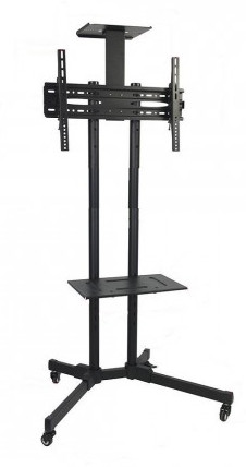AVR D910B  Adjustable 32-65 Inch TV Stand with Wheel