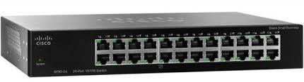 Cisco SF95-24 24-Port 10/100 Unmanaged Rackmount Switch