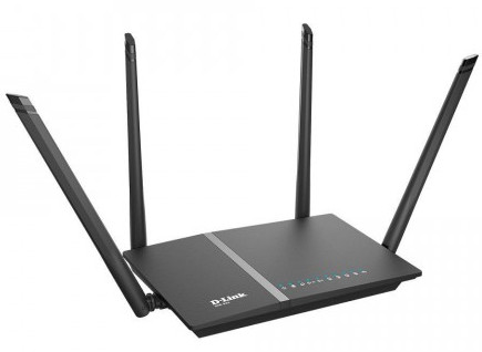 D-Link DIR-825 1200 Mbps 4 Antenna USB Port Wi-Fi Router