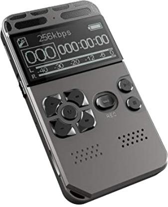 Lykeri V35 Dual Stereo Microphone Digital Voice Recorder